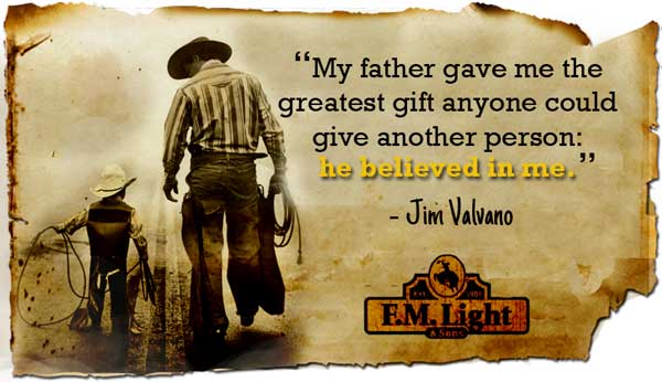 A Father's Day Quote from F.M. Light and Sons