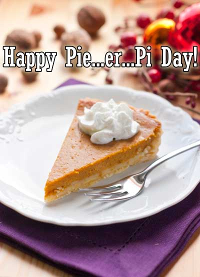 National Pie..er..Pi Day