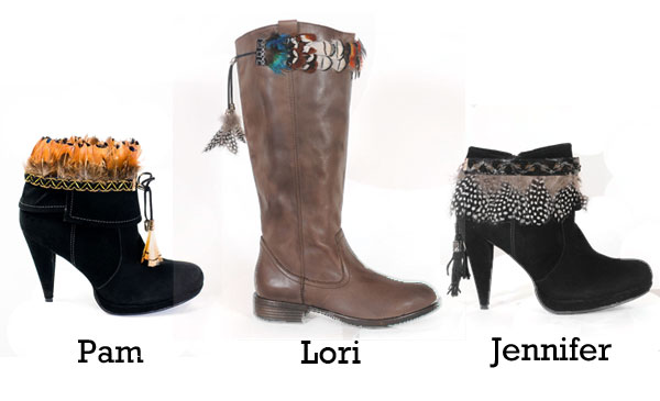 Boot Dazzles - Trim for your boots - carried at F.M. Light and Sons in Steamboat Springs, CO | Western Wear | Styles: Pam, Lori and Jennifer