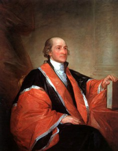 John Jay: President of Congress; diplomat; author of The Federalist Papers; original Chief Justice of the U.S. Supreme Court; Governor of New York